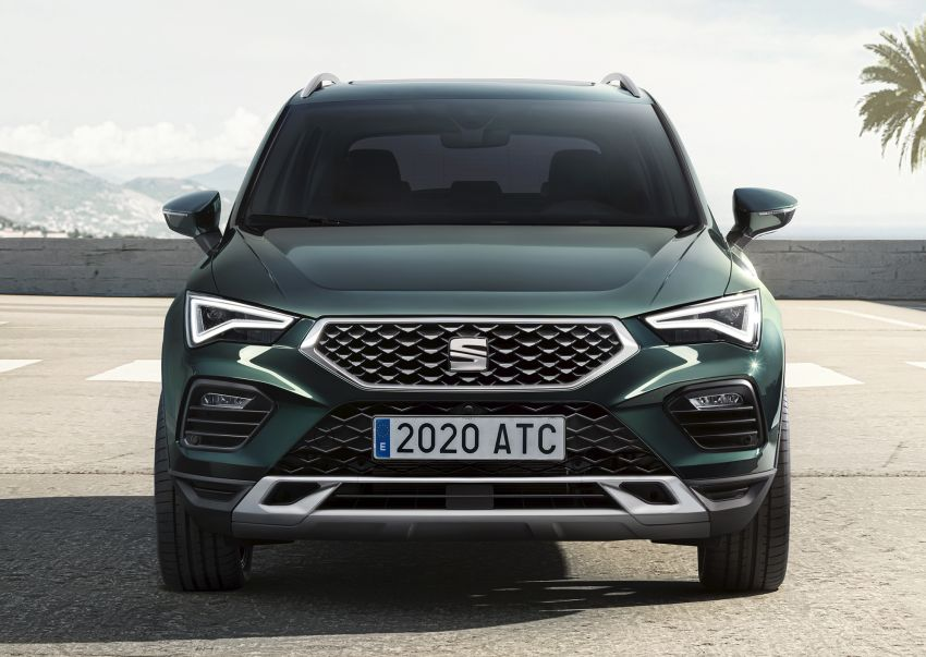 2020 Seat Ateca facelift gets latest tech, powertrains Image #1130913