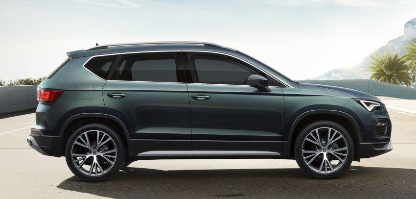 2020 Seat Ateca facelift gets latest tech, powertrains Image #1130914