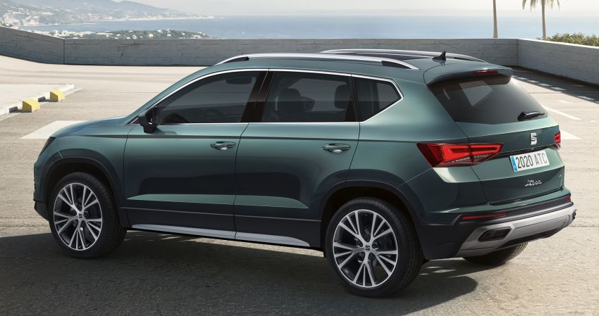 2020 Seat Ateca facelift gets latest tech, powertrains Image #1130918