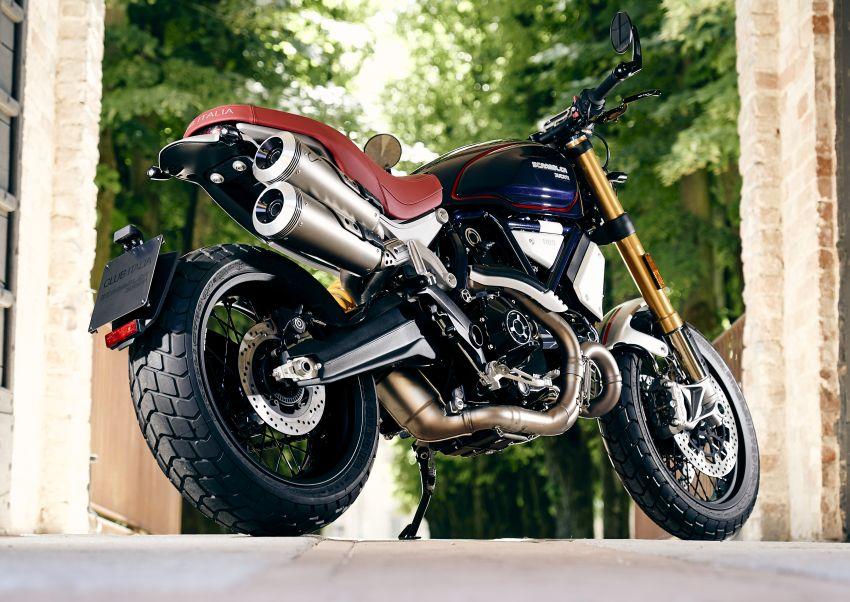 Scrambler Ducati Club Italia for fight against Covid-19, exclusive to Scuderia Italia members Image #1134184