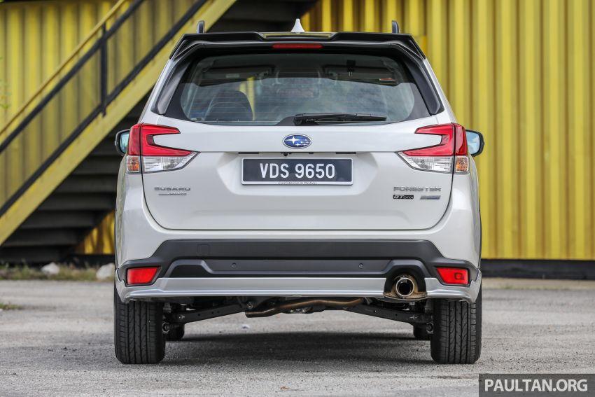 PANDU UJI: Subaru Forester GT Edition 2020 pilihan untuk yang gemarkan gaya dan prestasi menguja Image #1137978