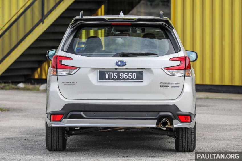 PANDU UJI: Subaru Forester GT Edition 2020 pilihan untuk yang gemarkan gaya dan prestasi menguja Image #1137979