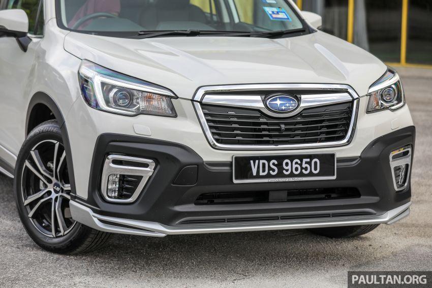 PANDU UJI: Subaru Forester GT Edition 2020 pilihan untuk yang gemarkan gaya dan prestasi menguja Image #1137981
