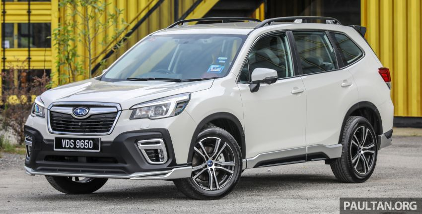 GALLERY: 2020 Subaru Forester GT Edition in Malaysia – 156 PS/196 Nm, EyeSight, RM177,788 Image #1138127