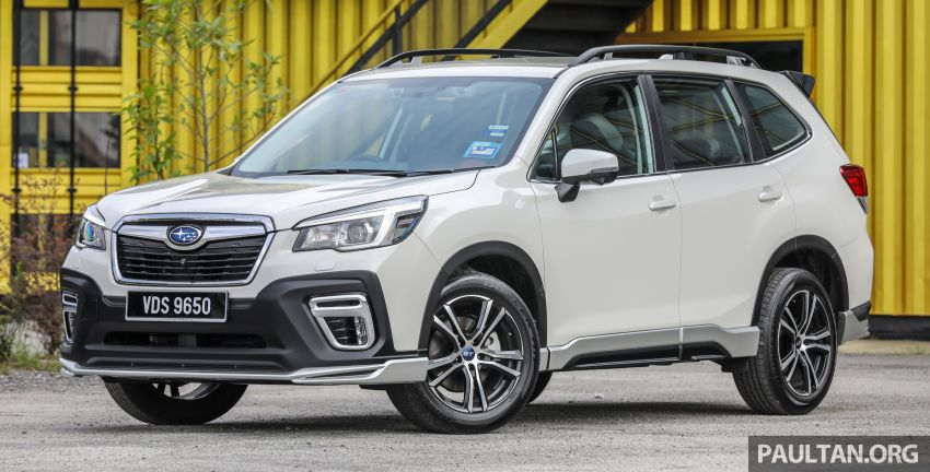 GALLERY: 2020 Subaru Forester GT Edition in Malaysia – 156 PS/196 Nm, EyeSight, RM177,788 Image #1138128