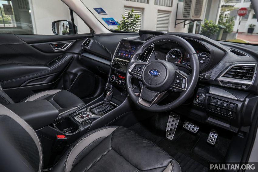 PANDU UJI: Subaru Forester GT Edition 2020 pilihan untuk yang gemarkan gaya dan prestasi menguja Image #1138010