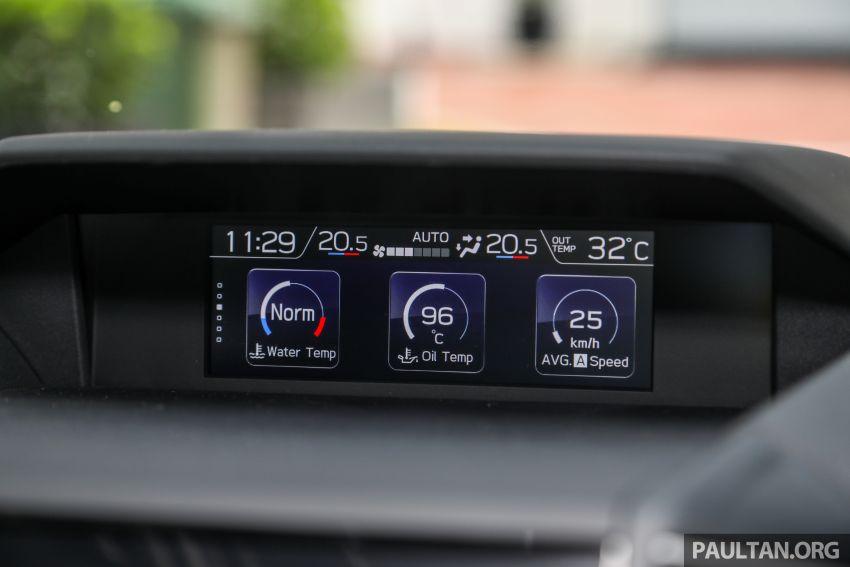 PANDU UJI: Subaru Forester GT Edition 2020 pilihan untuk yang gemarkan gaya dan prestasi menguja Image #1138031