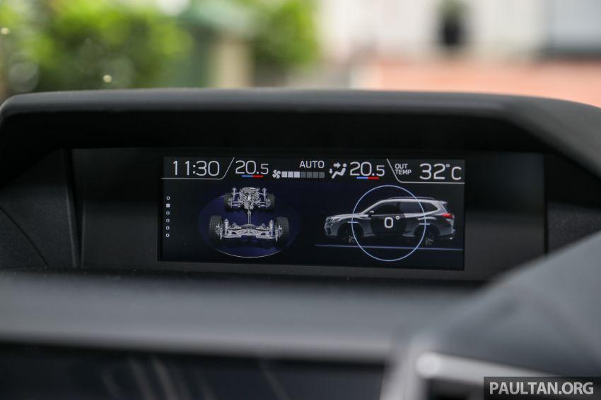 PANDU UJI: Subaru Forester GT Edition 2020 pilihan untuk yang gemarkan gaya dan prestasi menguja Image #1138038