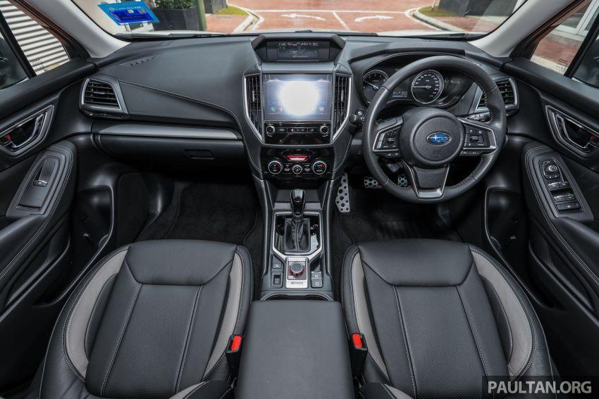 PANDU UJI: Subaru Forester GT Edition 2020 pilihan untuk yang gemarkan gaya dan prestasi menguja Image #1138011
