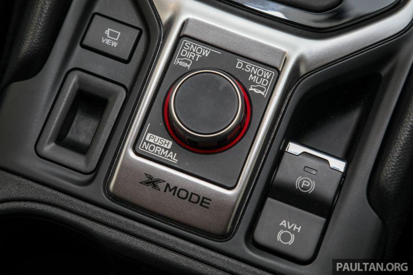 PANDU UJI: Subaru Forester GT Edition 2020 pilihan untuk yang gemarkan gaya dan prestasi menguja Image #1138053