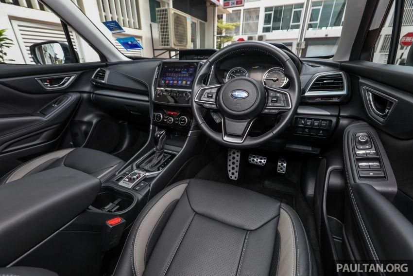 PANDU UJI: Subaru Forester GT Edition 2020 pilihan untuk yang gemarkan gaya dan prestasi menguja Image #1138063