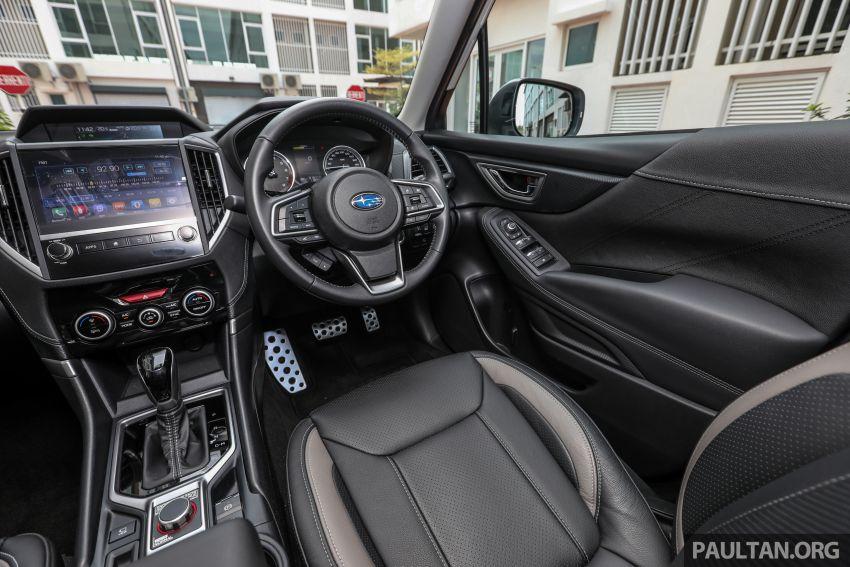 PANDU UJI: Subaru Forester GT Edition 2020 pilihan untuk yang gemarkan gaya dan prestasi menguja Image #1138064
