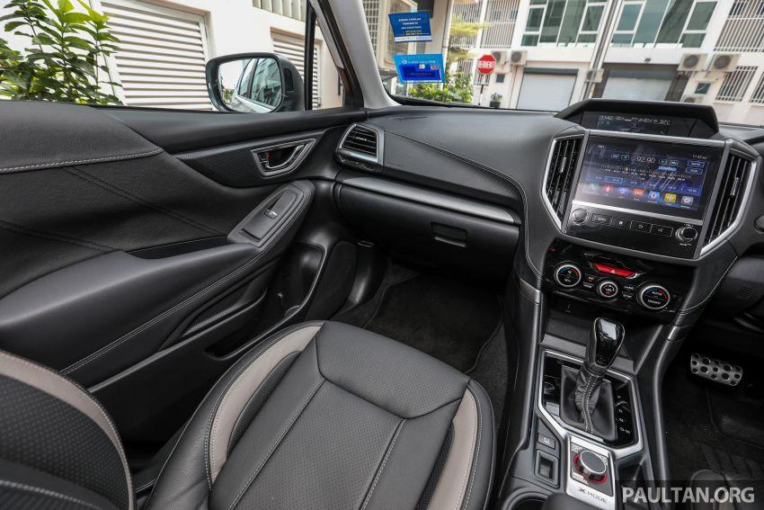 PANDU UJI: Subaru Forester GT Edition 2020 pilihan untuk yang gemarkan gaya dan prestasi menguja Image #1138066