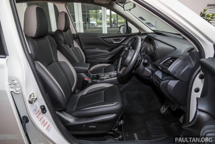 PANDU UJI: Subaru Forester GT Edition 2020 pilihan untuk yang gemarkan gaya dan prestasi menguja Image #1138067