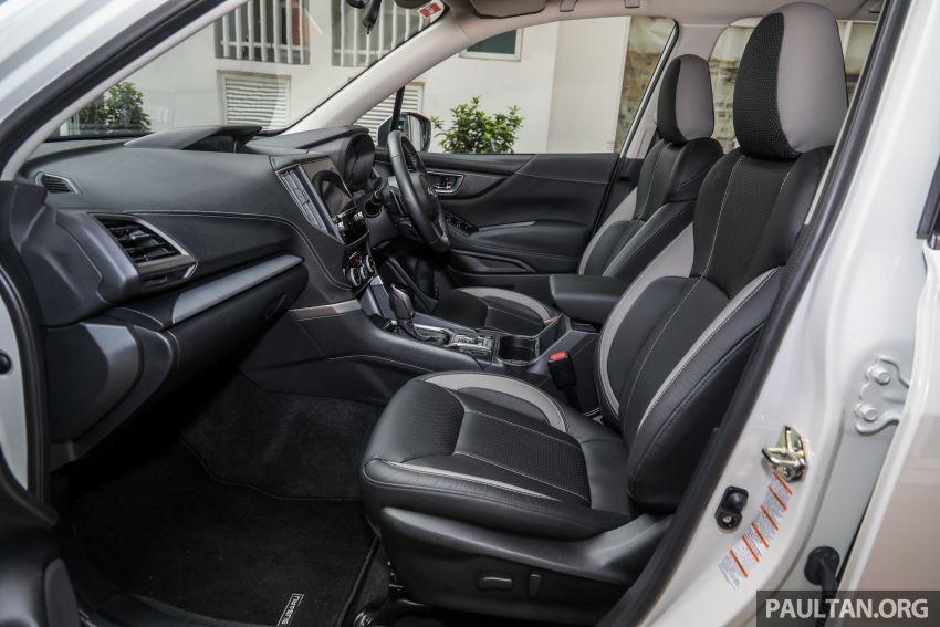 PANDU UJI: Subaru Forester GT Edition 2020 pilihan untuk yang gemarkan gaya dan prestasi menguja Image #1138068