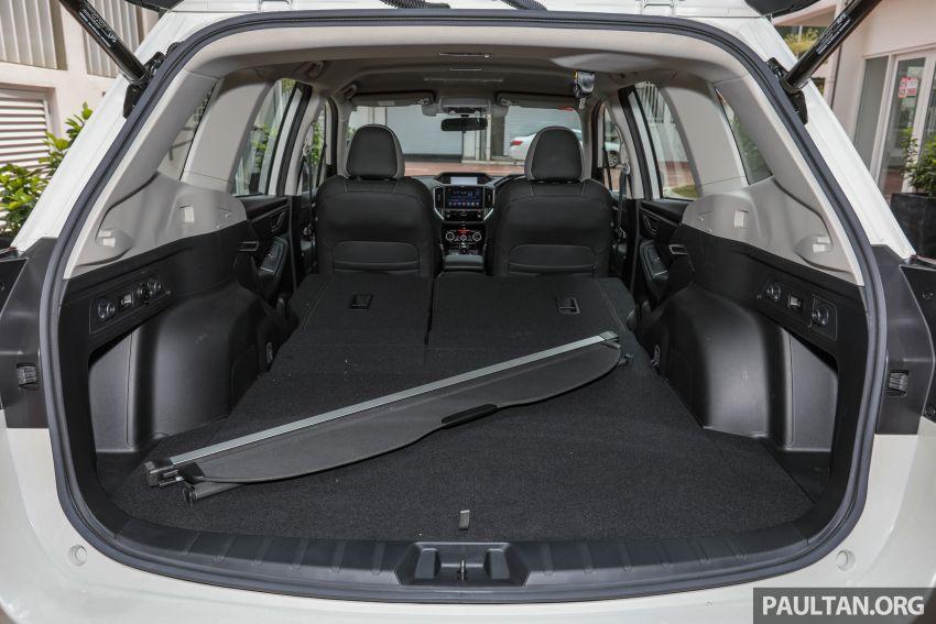 PANDU UJI: Subaru Forester GT Edition 2020 pilihan untuk yang gemarkan gaya dan prestasi menguja Image #1138086