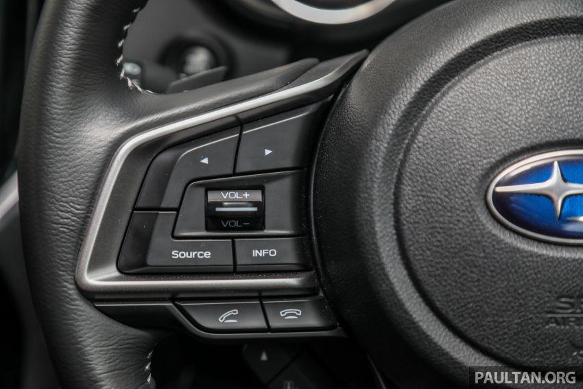 PANDU UJI: Subaru Forester GT Edition 2020 pilihan untuk yang gemarkan gaya dan prestasi menguja Image #1138027