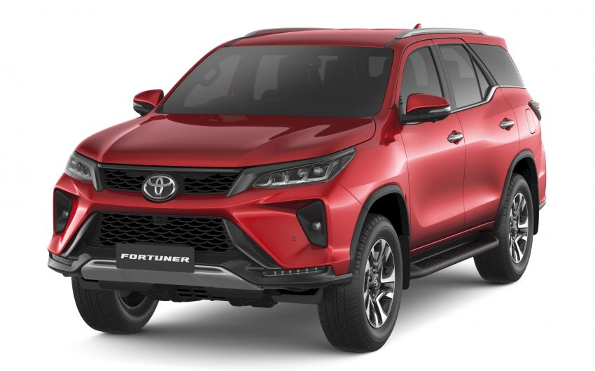 2020 Toyota Fortuner facelift revealed – 2.8L with 204 PS, 500 Nm, Thailand gets Legender with sporty face Image #1126772