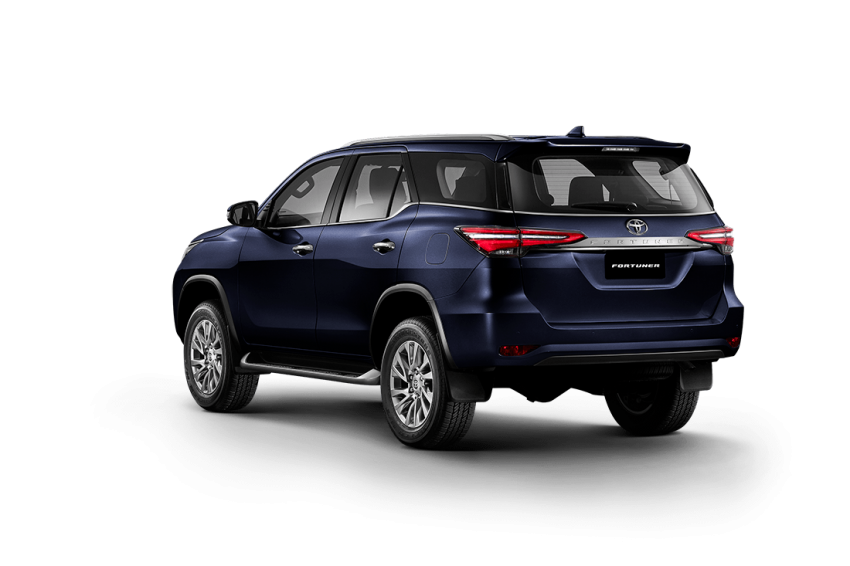 2020 toyota fortuner facelift revealed - 2.8l with 204 ps