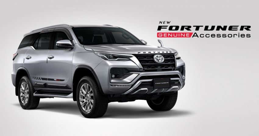2020 Toyota Hilux, Fortuner show off new accessories Image #1128660