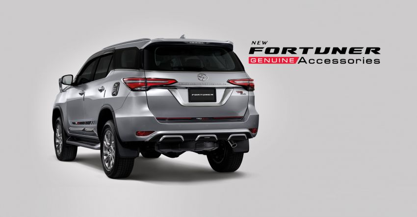 2020 Toyota Hilux, Fortuner show off new accessories Image #1128661