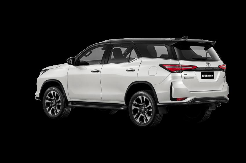 Toyota Fortuner facelift 2020 didedahkan – enjin 2.8L berkuasa 204 PS/500 Nm, varian Lagender untuk Thai Image #1127000