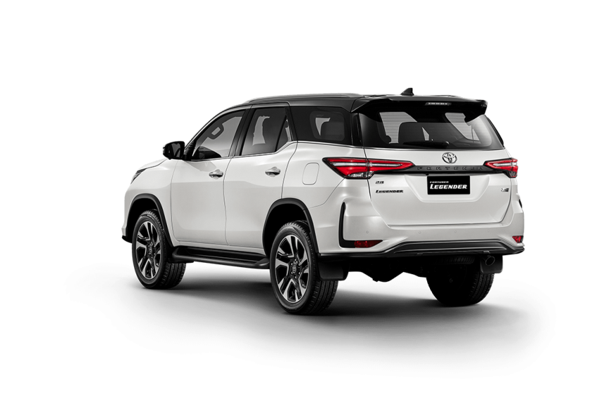 2020 Toyota Fortuner facelift revealed – 2.8L with 204 PS, 500 Nm, Thailand gets Legender with sporty face Image #1126717