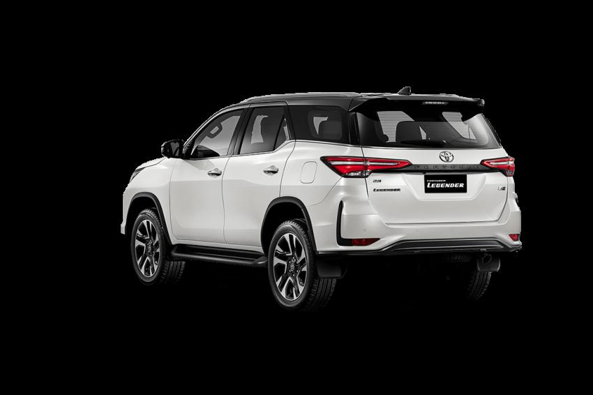 Toyota Fortuner facelift 2020 didedahkan – enjin 2.8L berkuasa 204 PS/500 Nm, varian Lagender untuk Thai Image #1127001