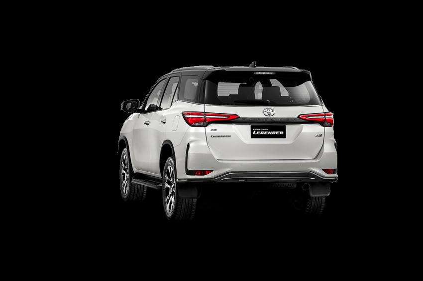 Toyota Fortuner facelift 2020 didedahkan – enjin 2.8L berkuasa 204 PS/500 Nm, varian Lagender untuk Thai Image #1127002