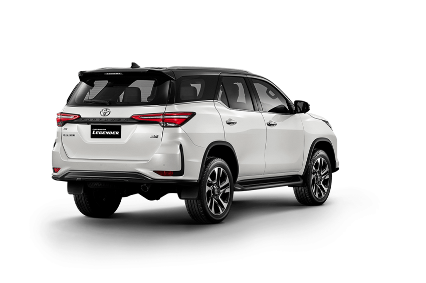 2020 Toyota Fortuner facelift revealed – 2.8L with 204 PS, 500 Nm, Thailand gets Legender with sporty face Image #1126721