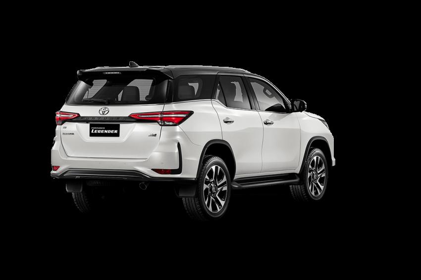 Toyota Fortuner facelift 2020 didedahkan – enjin 2.8L berkuasa 204 PS/500 Nm, varian Lagender untuk Thai Image #1127005