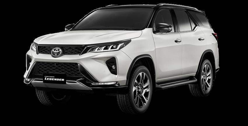 Toyota Fortuner facelift 2020 didedahkan – enjin 2.8L berkuasa 204 PS/500 Nm, varian Lagender untuk Thai Image #1126991