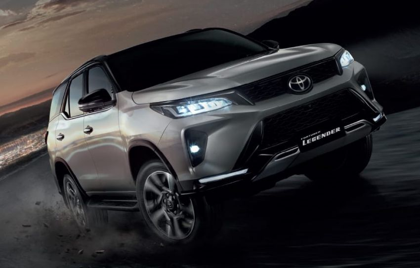 2020 Toyota Fortuner facelift revealed – 2.8L with 204 PS, 500 Nm, Thailand gets Legender with sporty face Image #1126755