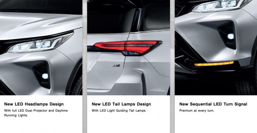 Toyota Fortuner facelift 2020 didedahkan – enjin 2.8L berkuasa 204 PS/500 Nm, varian Lagender untuk Thai Image #1127060