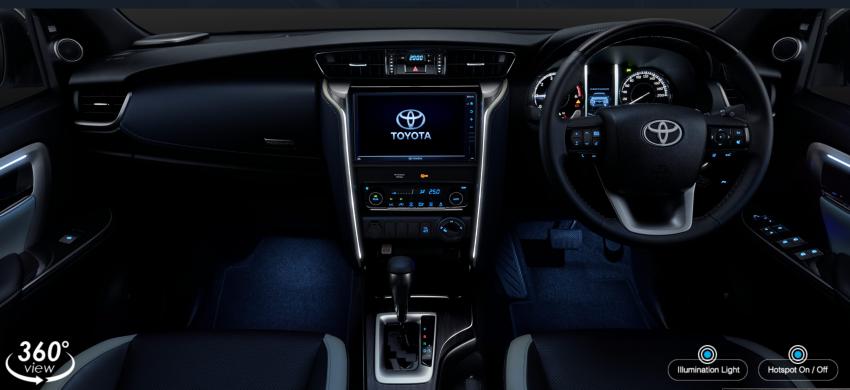 Toyota Fortuner facelift 2020 didedahkan – enjin 2.8L berkuasa 204 PS/500 Nm, varian Lagender untuk Thai Image #1127065
