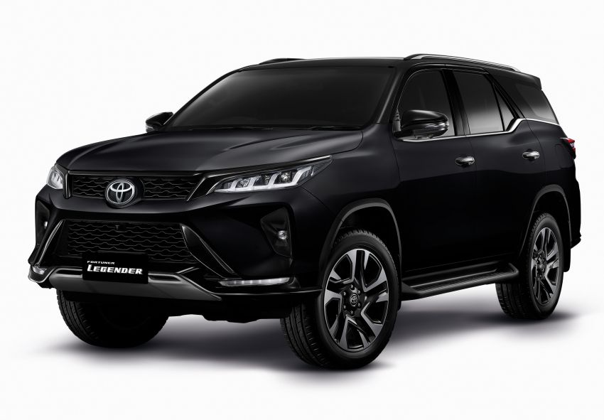 2020 Toyota Fortuner facelift revealed – 2.8L with 204 PS, 500 Nm, Thailand gets Legender with sporty face Image #1160436