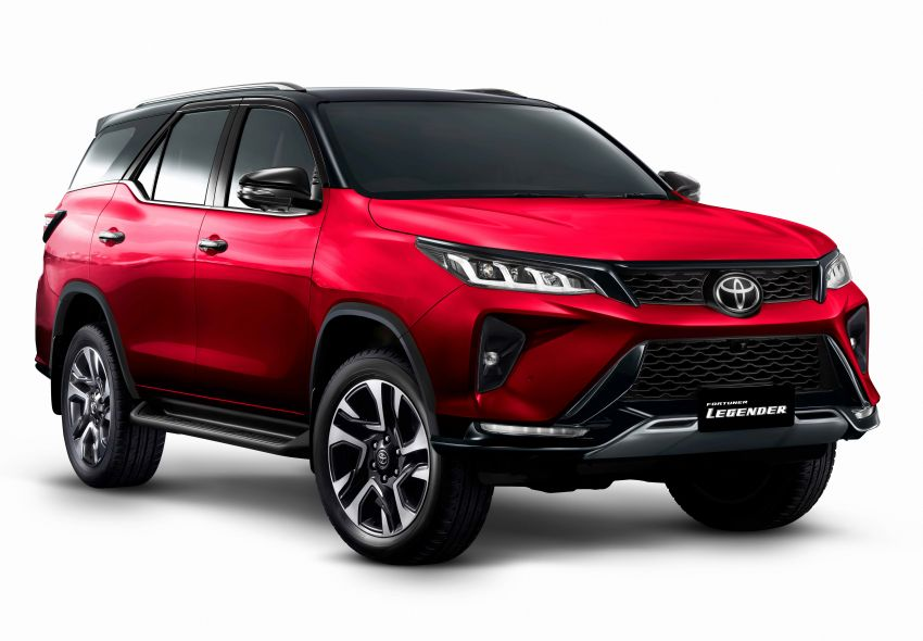 2020 Toyota Fortuner facelift revealed – 2.8L with 204 PS, 500 Nm, Thailand gets Legender with sporty face Image #1160454