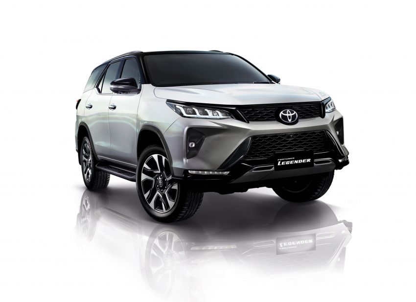 2020 Toyota Fortuner facelift revealed – 2.8L with 204 PS, 500 Nm, Thailand gets Legender with sporty face Image #1160438
