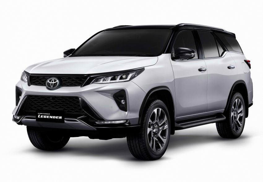 2020 Toyota Fortuner facelift revealed – 2.8L with 204 PS, 500 Nm, Thailand gets Legender with sporty face Image #1160455