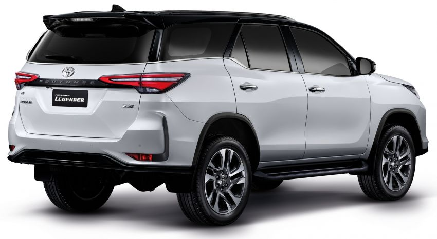 2020 Toyota Fortuner facelift revealed – 2.8L with 204 PS, 500 Nm, Thailand gets Legender with sporty face Image #1160440