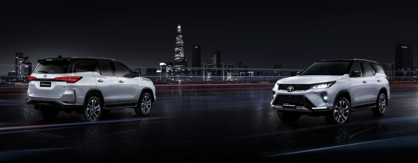 2020 Toyota Fortuner facelift revealed – 2.8L with 204 PS, 500 Nm, Thailand gets Legender with sporty face Image #1160456