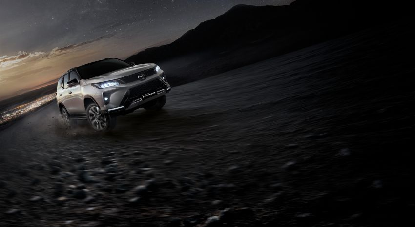 2020 Toyota Fortuner facelift revealed – 2.8L with 204 PS, 500 Nm, Thailand gets Legender with sporty face Image #1160442