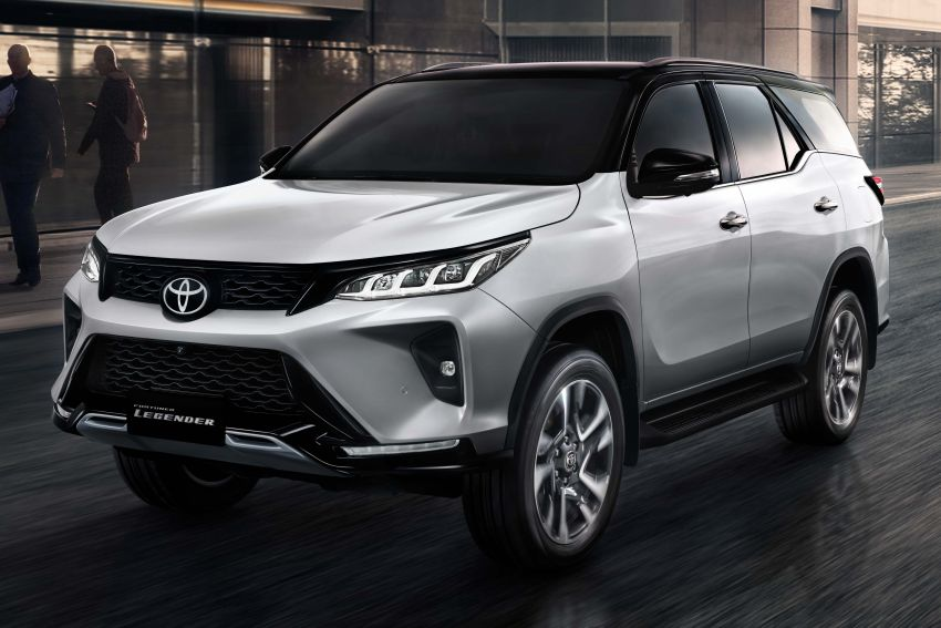 2020 Toyota Fortuner facelift revealed – 2.8L with 204 PS, 500 Nm, Thailand gets Legender with sporty face Image #1160444