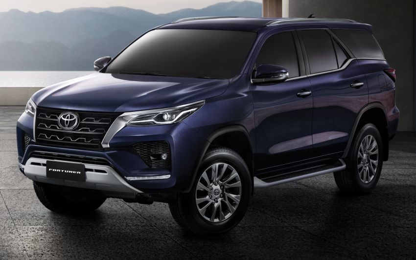 2020 Toyota Fortuner facelift revealed – 2.8L with 204 PS, 500 Nm, Thailand gets Legender with sporty face Image #1160425