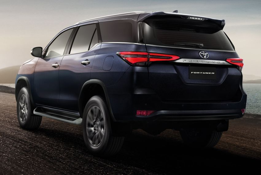 2020 Toyota Fortuner facelift revealed – 2.8L with 204 PS, 500 Nm, Thailand gets Legender with sporty face Image #1160426