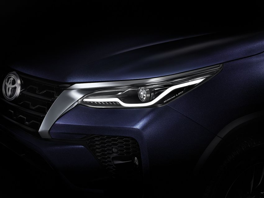 2020 Toyota Fortuner facelift revealed – 2.8L with 204 PS, 500 Nm, Thailand gets Legender with sporty face Image #1160427