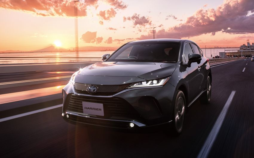 Toyota Harrier goes on sale in Japan – Dynamic Force 2.0 litre NA and 2.5 litre hybrid; starts from RM119,638 Image #1132631