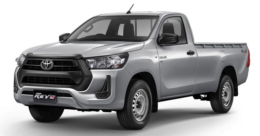 Toyota Hilux facelift didedahkan – rupa lebih garang, model 2.8L turbodiesel terima kuasa 204 hp/500 Nm Image #1127596