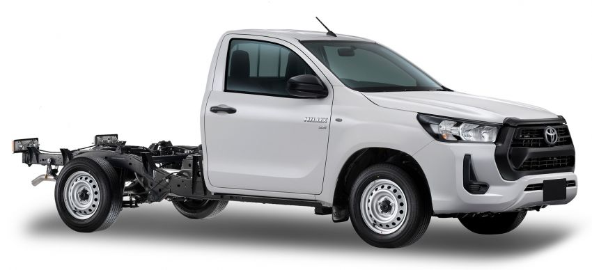 2020 Toyota Hilux facelift debuts with major styling changes – 2.8L turbodiesel now makes 204 PS, 500 Nm Image #1127185