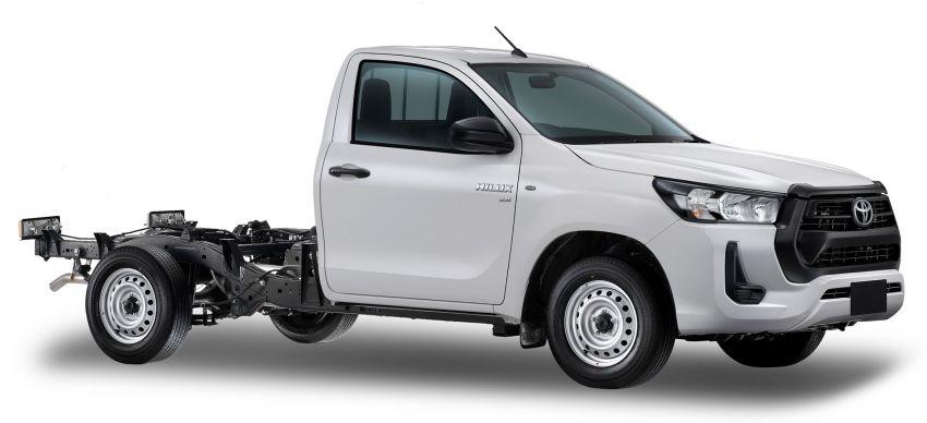Toyota Hilux facelift didedahkan – rupa lebih garang, model 2.8L turbodiesel terima kuasa 204 hp/500 Nm Image #1127599